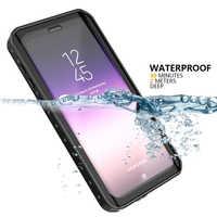 Für Samsung Galaxy S9 Plus S8 Plus S10 S10 Plus Hinweis 8 PC Abdeckung IP68 Wasserdichte Fall leben wasser Schock dirt Schnee Proof Schutz