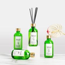 200ml Flameless Aromatherapy Rattan Essential Oil Set Toilet Deodorant Indoor Air Freshener Living Room Office Decoration
