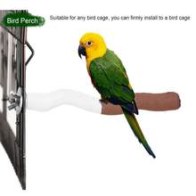 1Pcs Parrot Perch Pet Birds Rest Stand Beaks Nails Trimming Stick Play Toy for Conures Parrot Toys(China)