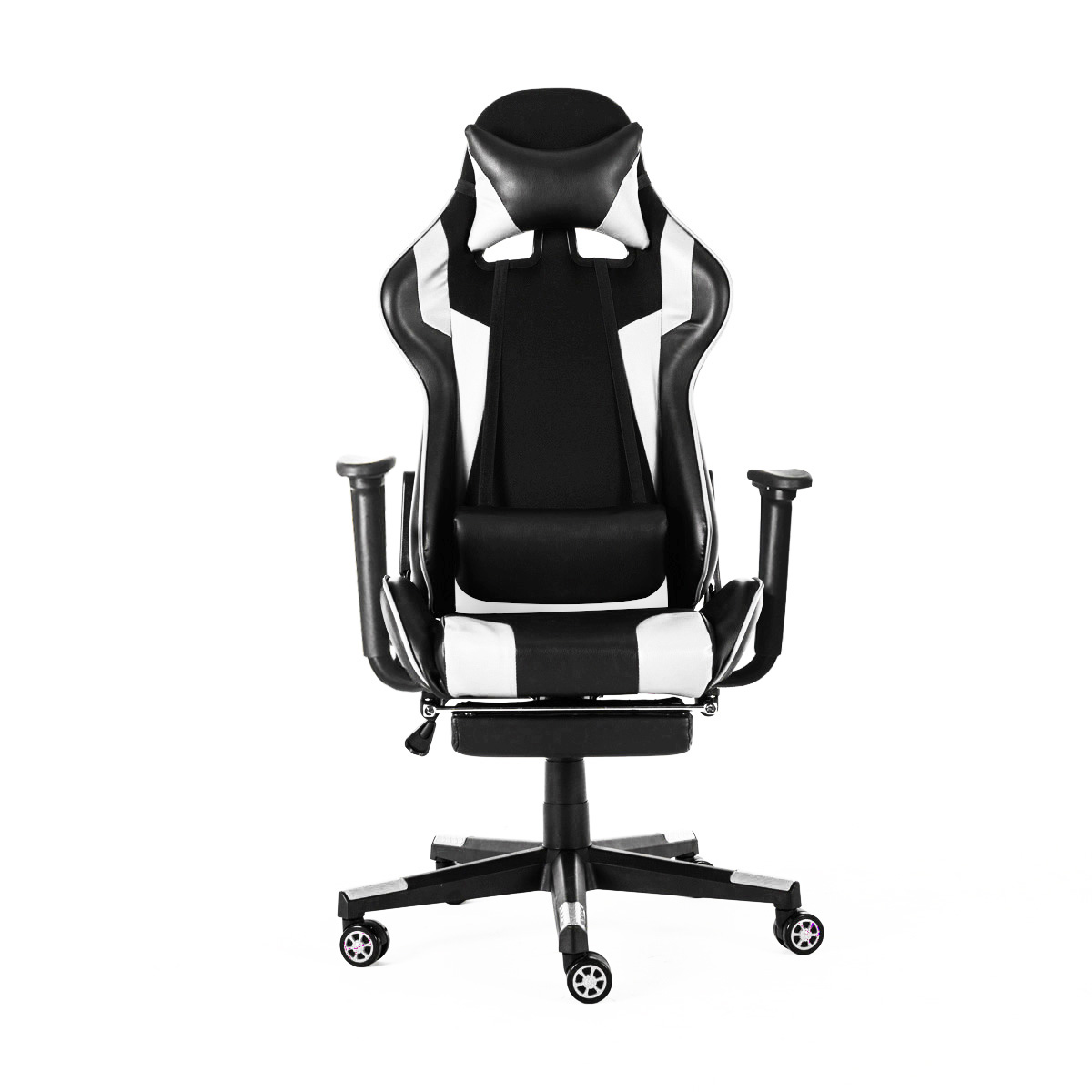 Office Chairs 180° Lying Massage Household Reclining Computer WCG Gaming Chairs Furniture Armchair with Footrest|  -