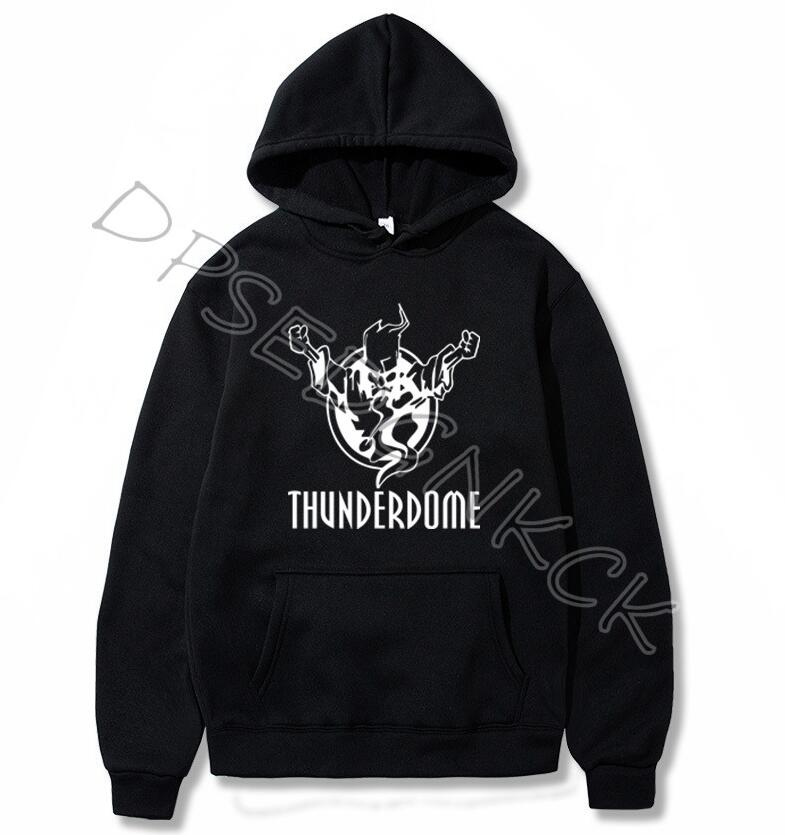 Thunderdome Hardcore Winter Hoodies Men Hoodie Harajuku Sweatshirt Hoody Boyfriend Birthday Gift Drop Shipping A143