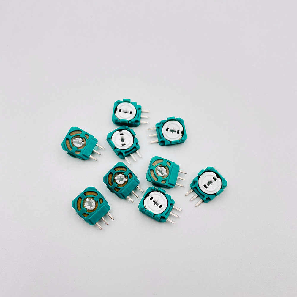 10 Pcs Vervanging Joystick Axis Analog Sensor Voor Playstation 4 PS4 Controller 3 Pin Mini Switch Knop