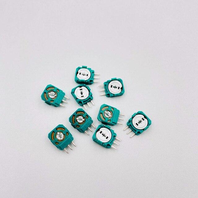 10PCS Ersatz Joystick Achsen Analog Sensor Für Playstation 4 PS4 Controller 3 Pin Mini Schalter Taste