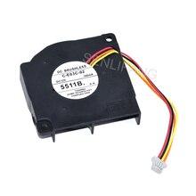 Ventilador de refrigeración para proyector, C E03C 02 de 12V CC, 180mA, cuatro cables, para C260M/C3011WN/C301MN/C301MS