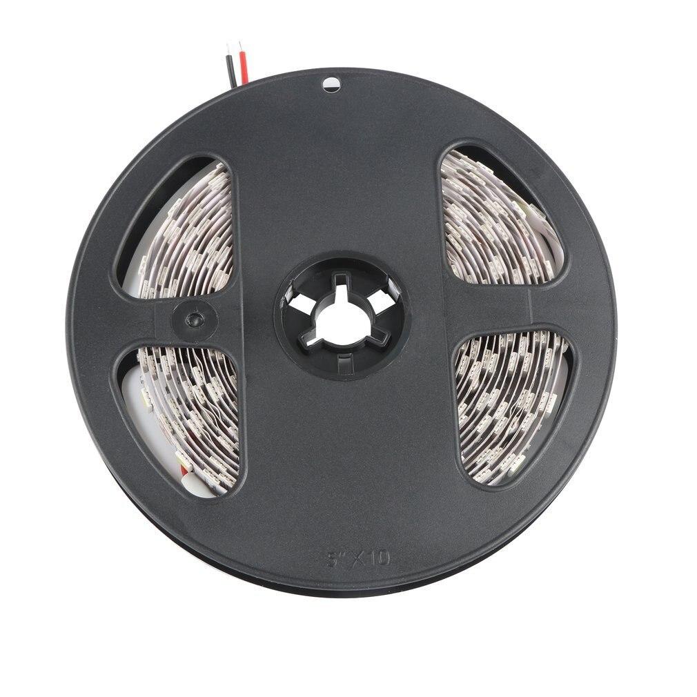 5M 16ft 5050 SMD Non-Waterproof 300 LEDs Flexible Light LED Sticky Strip 12V