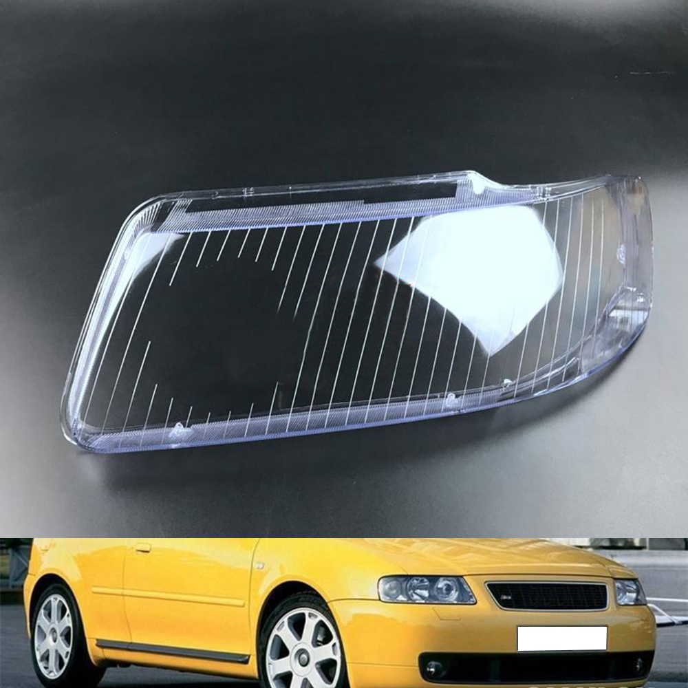 Car Headlamp Lens For Audi A3 2001 2002 2003  Car Headlight  Lens Replacement  Auto Shell Cover
