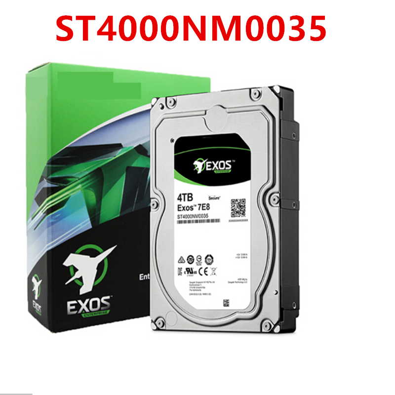 """New HDD For Seagate Brand 4TB 3.5"""" 7.2K SATA 6Gb/s 128MB 7200RPM For Internal Hard Disk For EnterpriseHDD For ST4000NM000A 2"""