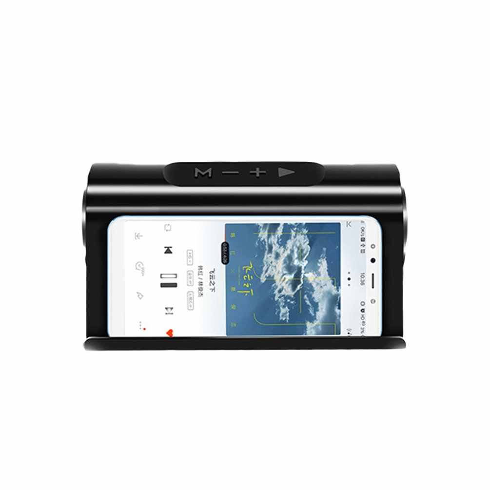 عالية الطاقة المحمولة المتكلم بطاقة Mp3 التوصيل U القرص دعوة المنزل الصوت مشغل إستريو تصميم مضخم صوت حامل هاتف