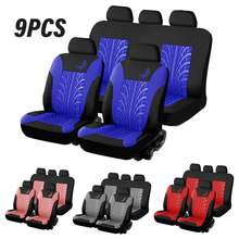 4 / 9 PCS Universal Car Seat Cover Protector Cushion Automobiles Seat Covers for Ford for VW for Seat