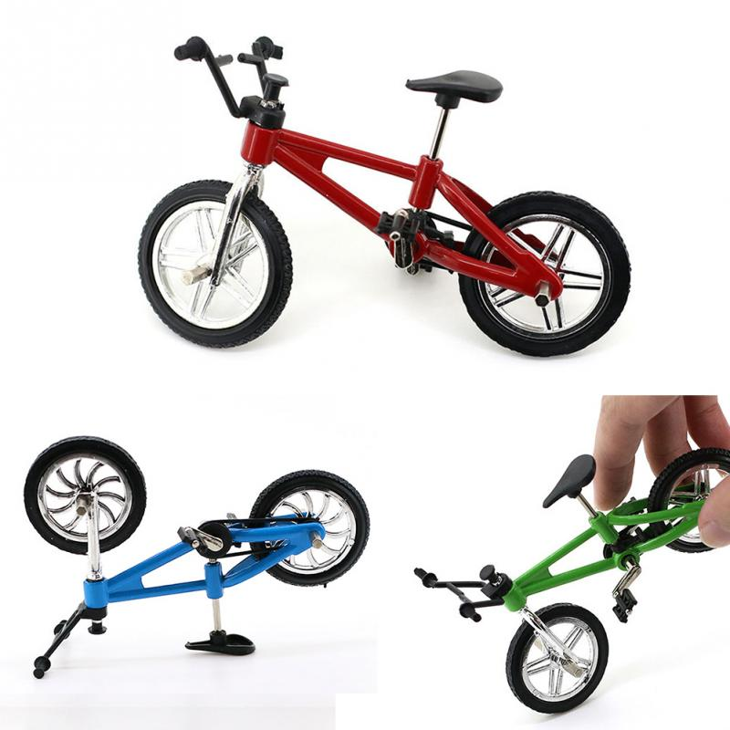 Mini Mountain Bike BMX Bicycle Boy Toy Bmx Fuctional Finger Game Interest Toys Collections Decor Gift High Quality Mini Bicycle