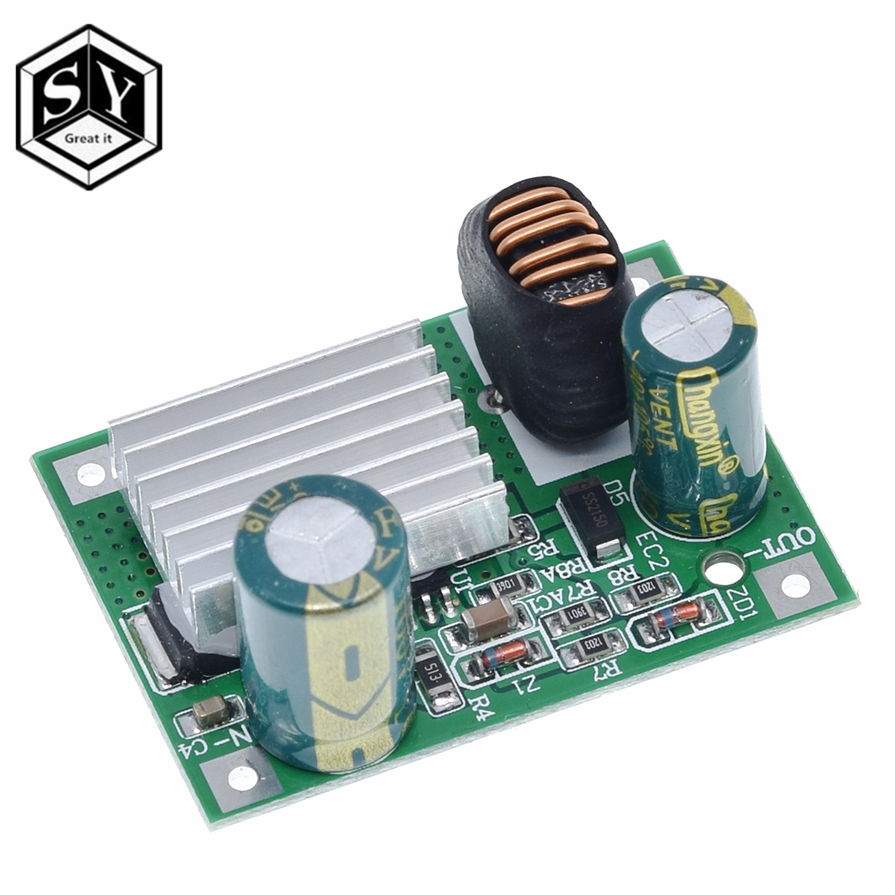 DC-DC 12V//24V//36V//48V to 5V 3A Buck Converter Step Down Power Supply Module M//