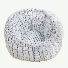 Round Plush Cat Bed Super Soft Long House Puppy Cushion Mat Washable Pet Dog Pads Breathable