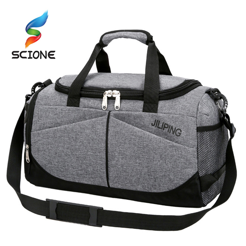Hot Waterproof Men's Sports Gym Bag Women Travel Handbag Large Outdoor Tote Luggage Yoga For Fitness Shoulder Duffle Bags
