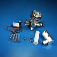 DLE61 61CC Gasoline Engine Single-Cylinder Two Stroke Side Exhaust Air Cooled Aircraft Engine For RC Model Planes цена 2017