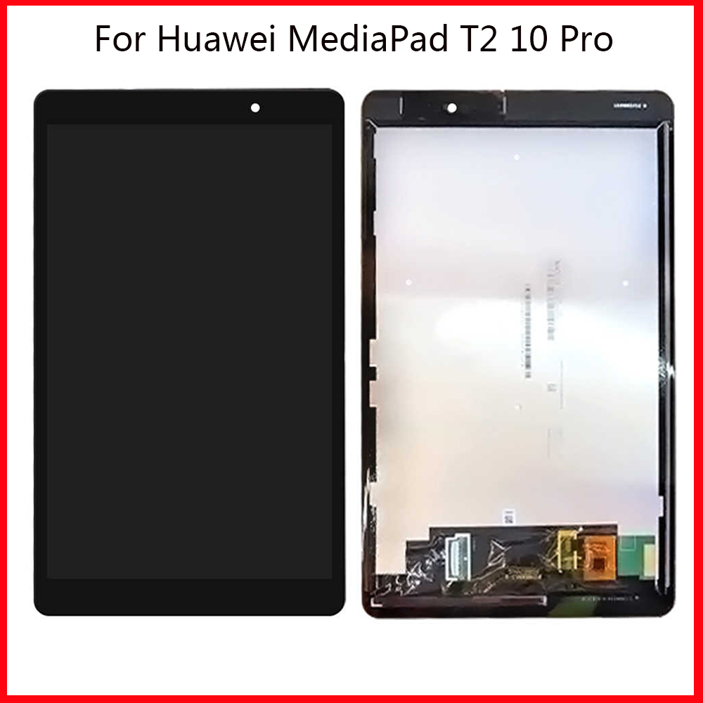 LCD For Huawei MediaPad T2 10.0 Pro FDR-A01L FDR-A01W Touch Screen LCD Display Digitizer Assembly Frame For Huawei T2 10 Pro LCD image