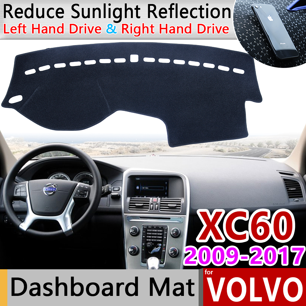 for <font><b>VOLVO</b></font> <font><b>XC60</b></font> 2009 2010 2011 <font><b>2012</b></font> 2013 2014 2015 2016 2017 Anti-Slip Mat Dashboard Cover Pad Sunshade Dashmat <font><b>Accessories</b></font> Rug image