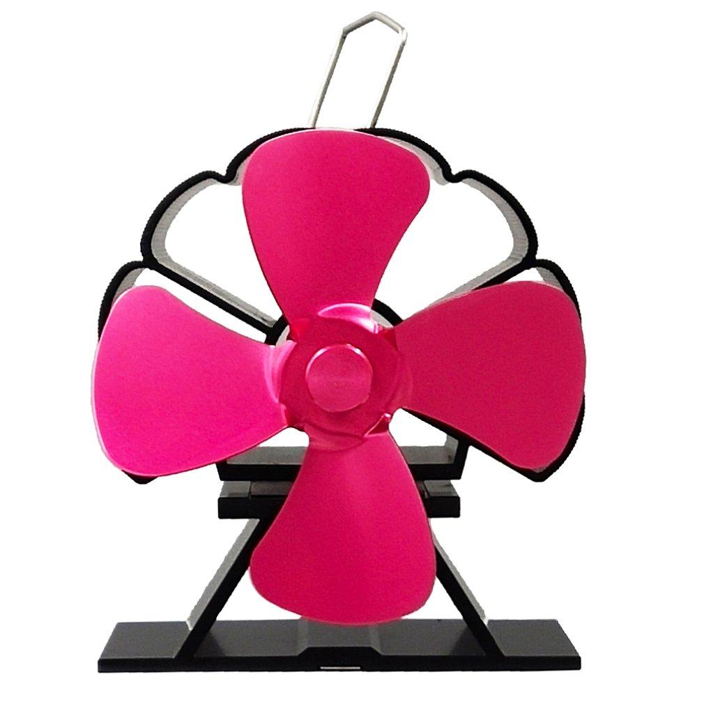 Powerless Stove Fan Blower Stove Fan For Fireplace Wood Log Burner Powered Eco Fan Fireplace Fan Thermal Power Fan