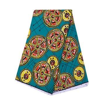 Nice Ankara wax prints fabric 2020 african cloth Ghana style Patchwork Sewing