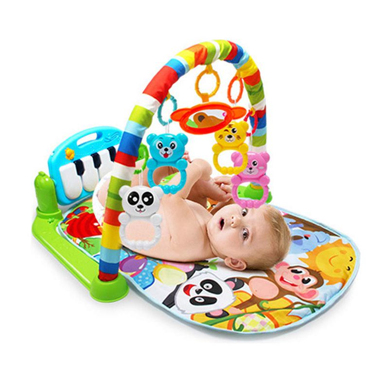 H3d9dcae8a7ff4b9ea6f892eaef67a25fi Play Mat Baby Carpet Music Puzzle Mat With Piano Keyboard Educational Rack Toys Infant Fitness Crawling Mat Gift For Kids Gym