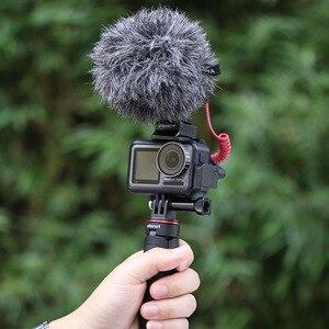Image 5 - Cynova DJI Osmo Hành Động Micro Adapter 3.5 Mm/USB C Âm Thanh Bên Ngoài 3.5 Mm Mic Ốp Cho TRS Cắm DJI osmo Hành Động Phụ Kiện