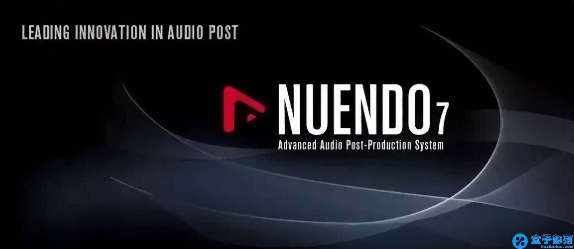 Nuendo 7 功能强大的音频编辑软件