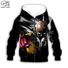 Черные толстовки с объемным рисунком аниме; Пальто на молнии;
