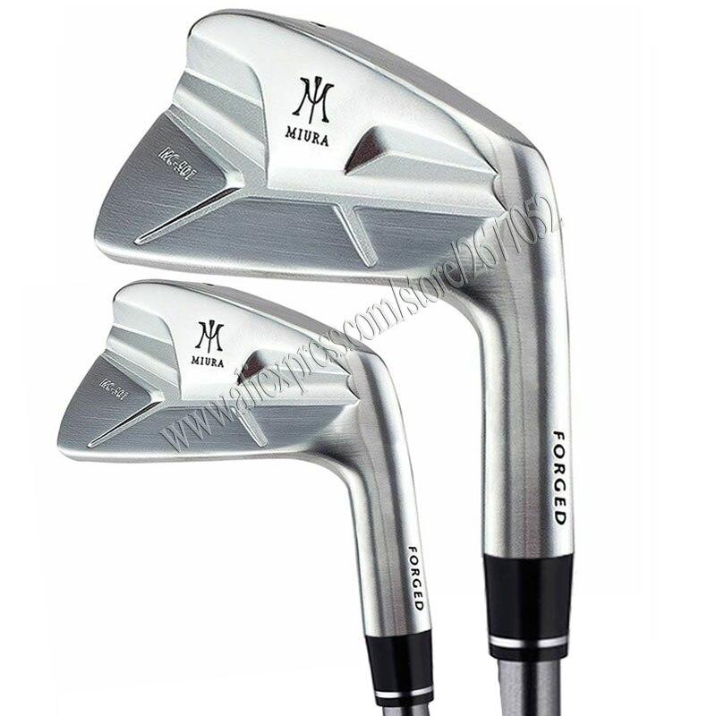 Cooyute Neue Männer Golf irons set MIURA MC-501Golf Clubs Irons 4-9P GESCHMIEDET Clubs Stahl welle R oder S Flex Golf welle Kostenloser versand