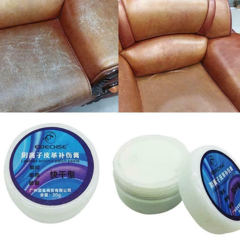 Leather Vinyl Mend Restoration Repair Tool Car Seat Sofa Coat Scratch Cracks Rip