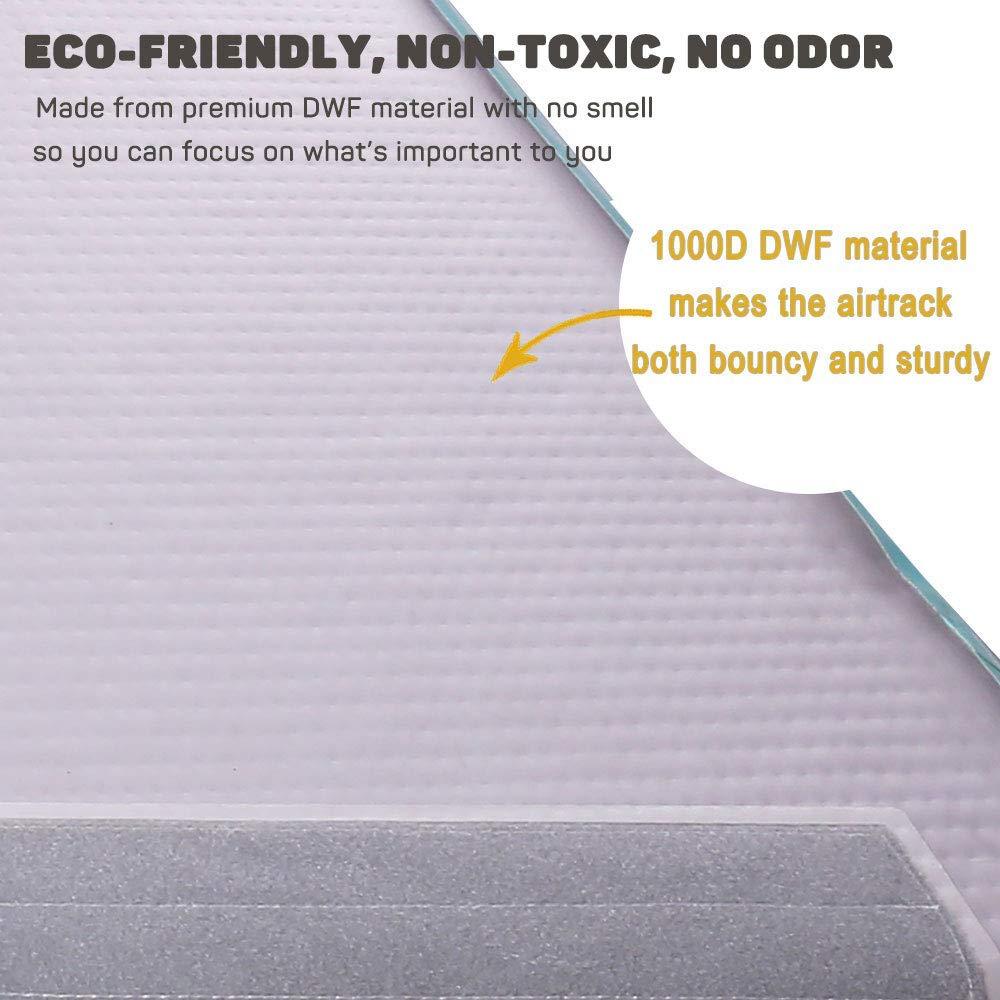 Tapis gonflable d'équipement de gymnastique de tapis de voie de 4m 5m 6m tapis de plancher d'airtrack de gymnastique tapis de pvc de tapis de Yoga pour le salon - 3