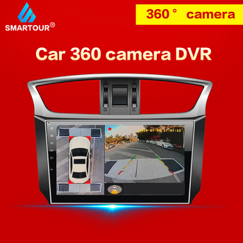 Smartour for Volkswagen 360 camera Parking surround HD Surround View  driving support Bird View Panorama System 4 Car camera bird view system hd 3d 360 degree surround view system 4 car camera multi angle adjustable metal car camera 1080p dvr g sensor