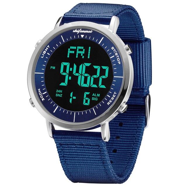 Shifenmei ultra-thin men's electronic watch Men Sport Watch Outdoor Digital Watch Electronic Wrist WatchesRelogio Masculino 5