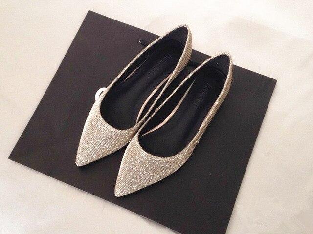 Women's  Flat Dress Shoes- Wedding Shoes 6