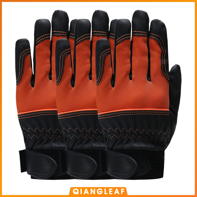 QIANGLEAF 3PCS  Work Winter Gloves Mechanic Working Gloves Cycling Safety Gloves Bicycle Protective Gloves Free Shipping 2700