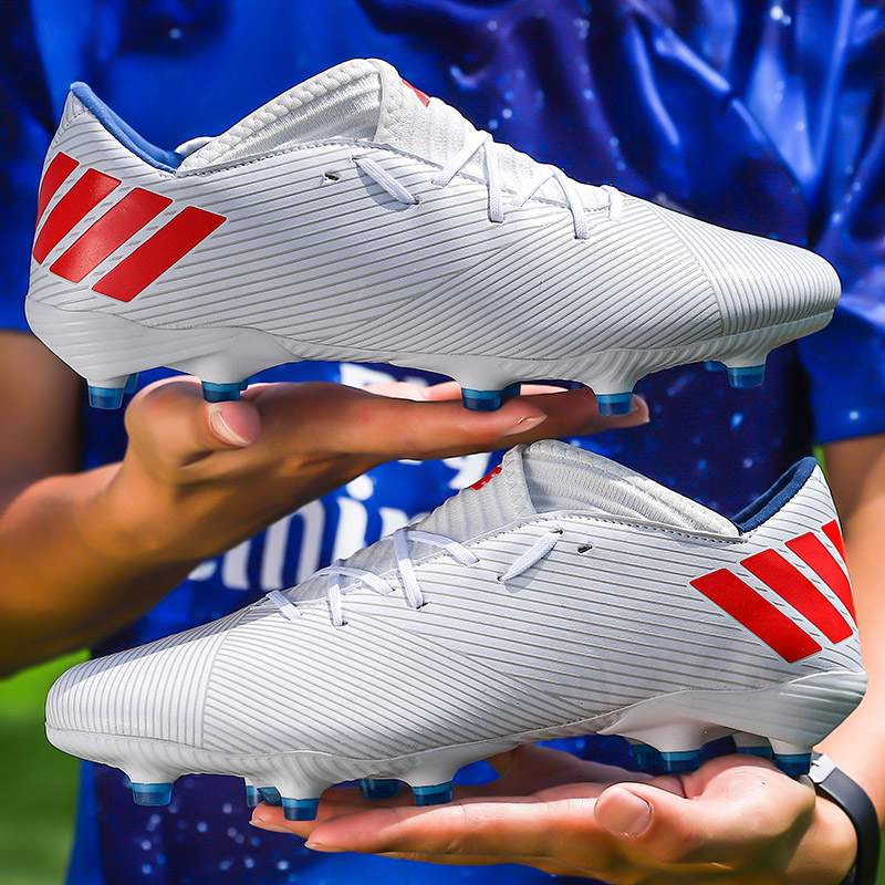 Kids Boy Girls Outdoor Soccer Cleats Shoes TF/FG Ankle Top Football Boots Soccer Training Sneakers Child Sports Shoes EU32  48 Soccer Shoes    - AliExpress