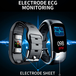 Image 3 - ECG PPG Smart Bracelet HRV Heart Rate Blood Pressure Monitor Smart Band Men IP67 Waterproof Running Swimming Sport Wristbands
