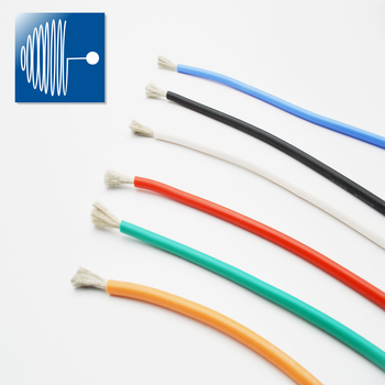 UL certification 1430 custom color 20/22/24/26/28/30 AWG tinned many colorful wire electrical cable for DIY car equipment wire image