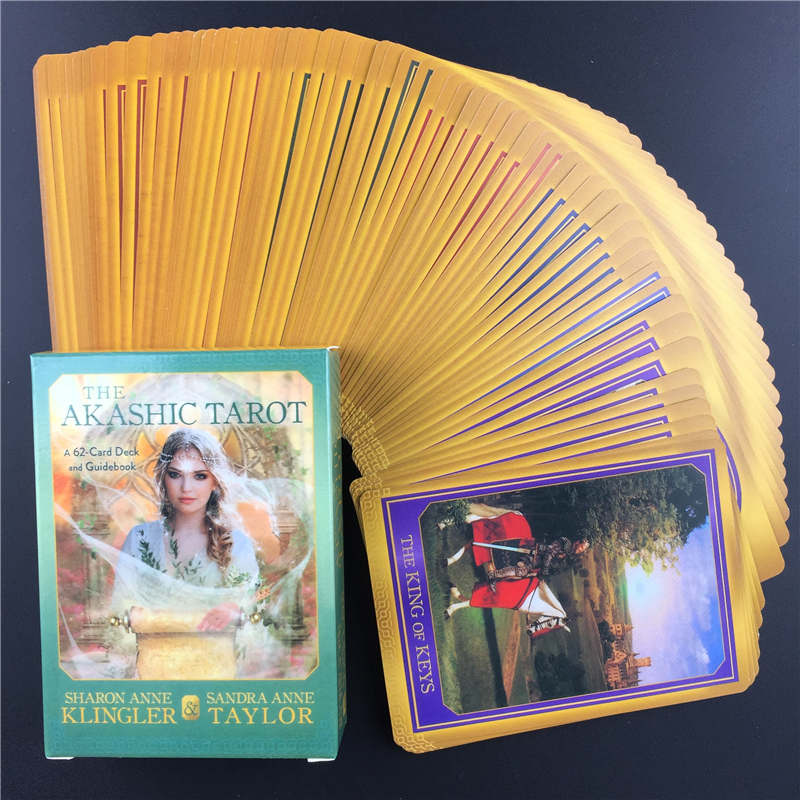The Akashic Tarot Cards Oracle Guidance Divination Fate Tarot Deck Board Games English Party Playing Card Games