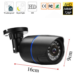 Image 2 - HD 1080P 2MP AHD Security Camera Outdoor Waterproof Array infrared Night Vision Bullet CCTV Analog Surveillance Camera