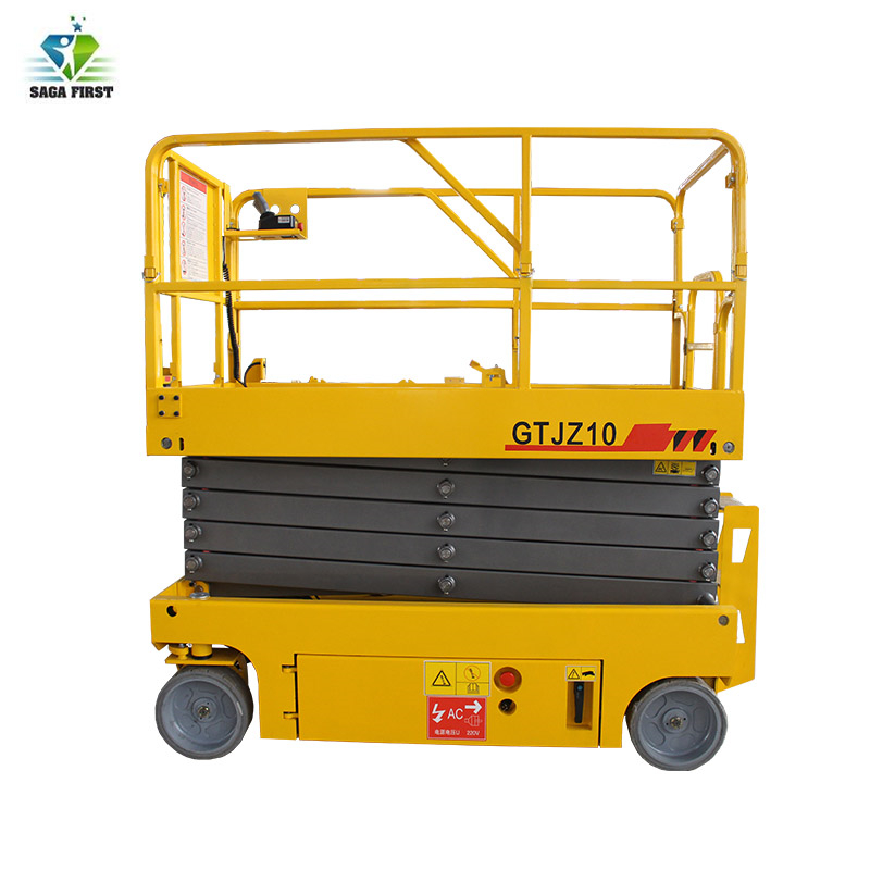 Aerial Platform Self Propelled Scissor Lift With ISO And CE Certificate