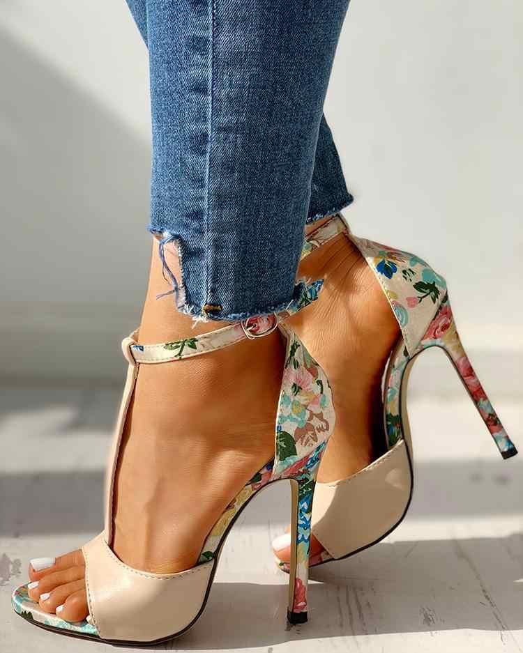 Womens moda verão sexy requintado 10cm salto alto senhoras aumento stiletto super salto alto sandálias zapatos de mujer bombas