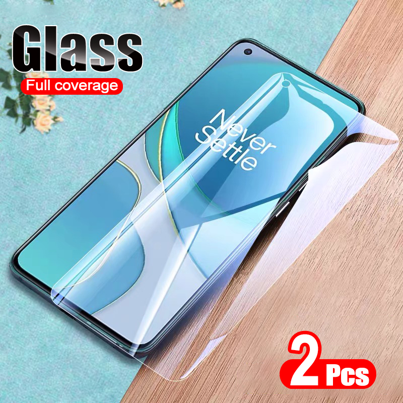 2pcs/lot Tempered Glass For Oneplus 8T Screen Protector Anti Blu-ray Glass For oneplus 7 7T 8T 6 6T glass Protctive Film