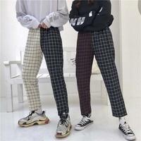 Весна-Осень 2019 женские элегантные однотонные брюки длиной до щиколотки пояс, карманы женские модные повседневные шикарные брюки Pantalones Mujer