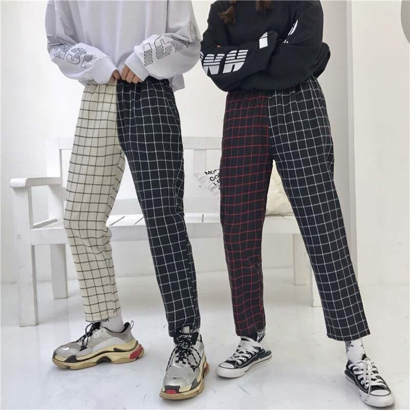 Sprint otoño 2019 Mujer elegante sólido tobillo largo Pantalones Sashes bolsillos señoras moda Casual Chic Pantalones Mujer