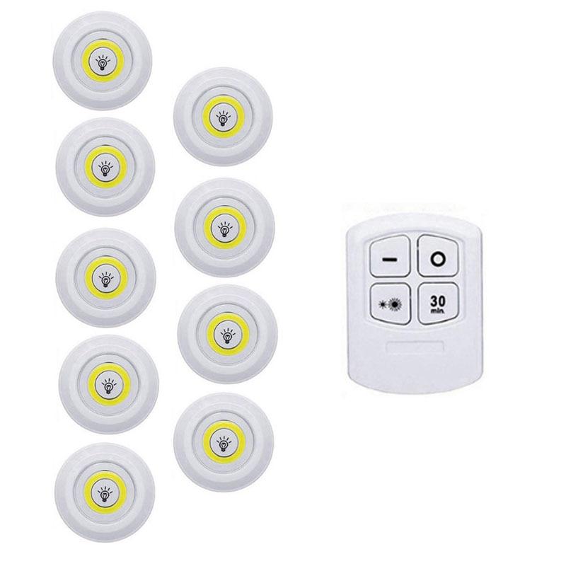 1 Remote 9 Lamp