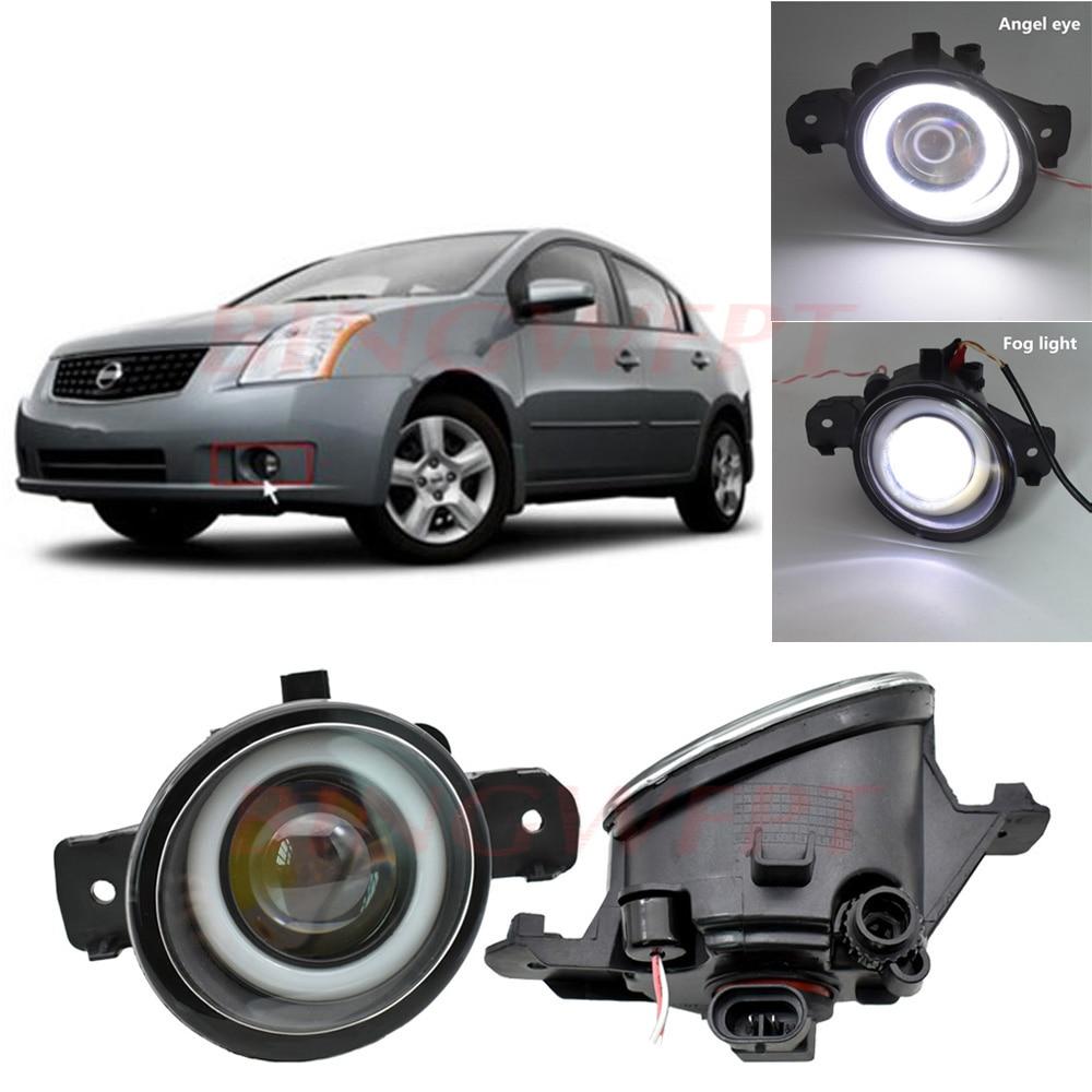 2PCS Fog Lamp Assembly Super Bright LED Fog Light For Nissan Almera Teana Qashqai Altima X