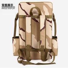 Сумка для рыболовного стула, сумка через плечо, двухслойный Многофункциональный рыболовный двухслойный рюкзак, рыболовная Сумка, рыболовная удочка, сумка для рыбалки