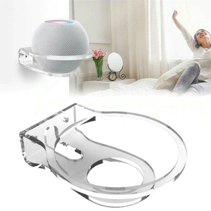 Image 1 - Universal  Speaker Holder Wall Mount Hanger Bracket Space Saving Stand Cable Management For Apple HomePod Mini