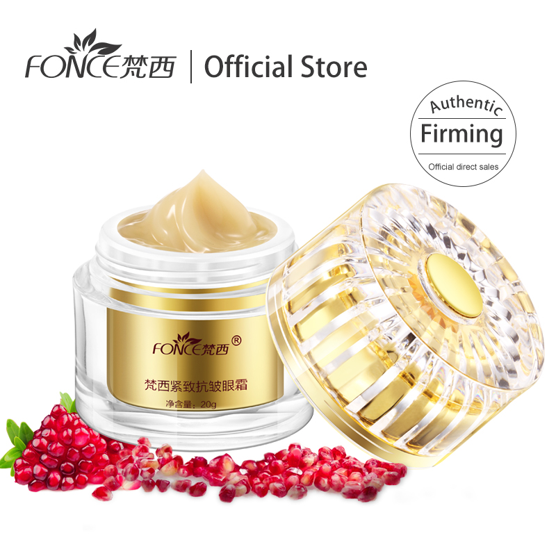 Fonce Dark Circle Remover Eye Cream Plant Extract Treatment Ojeras Eye Bag Moisturizing Firming Tighten Eye Mask 20g
