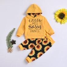 Emmababy Одежда для новорожденных девочек осенние новые Топы