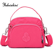 цена women Shoulder Bags luxury handbags women bags designer Nylon cloth tote Lady's travel bag sac a main high quality shopping bag в интернет-магазинах